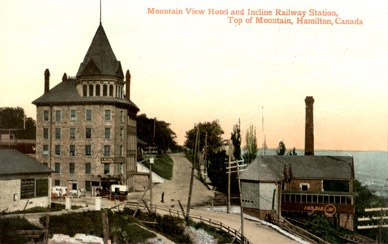 Mountain View Hotel, near incline railway, near Ruby's cottage