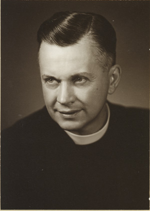 Reverend Forbes Thomson, minister at MacNab between 1946-1957